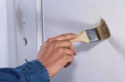 Як пофарбувати міжкімнатні двері самому