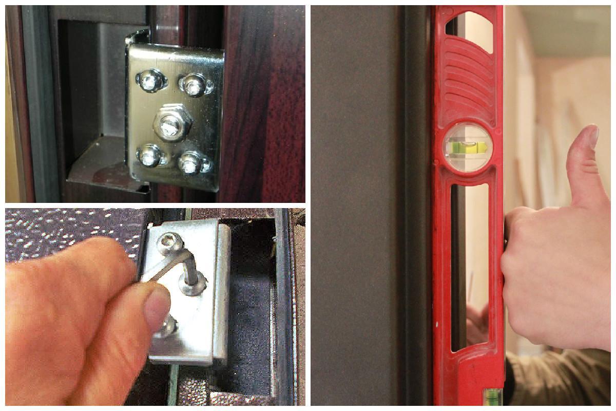 Регулювання металевих вхідних дверей самостійно