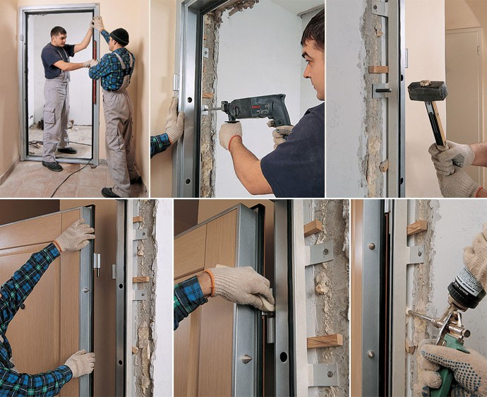 Як зробити залізні двері своїми руками