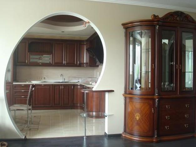 Арка на кухню: види і установка