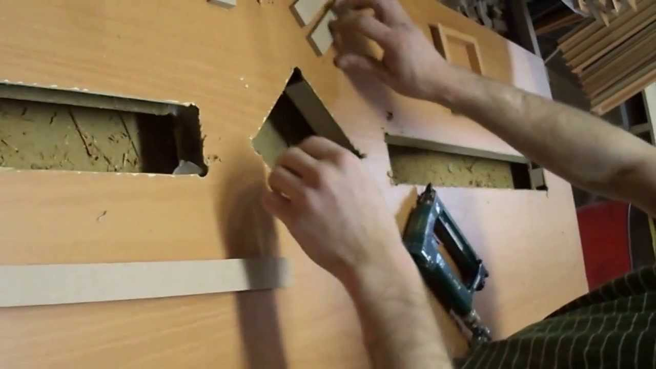 Як поміняти скло у міжкімнатних дверях