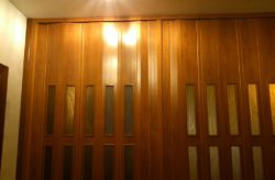 Як зробити двері гармошку своїми руками
