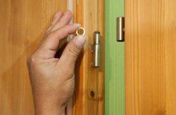 Чим змастити дверні петлі, щоб двері не скрипіли