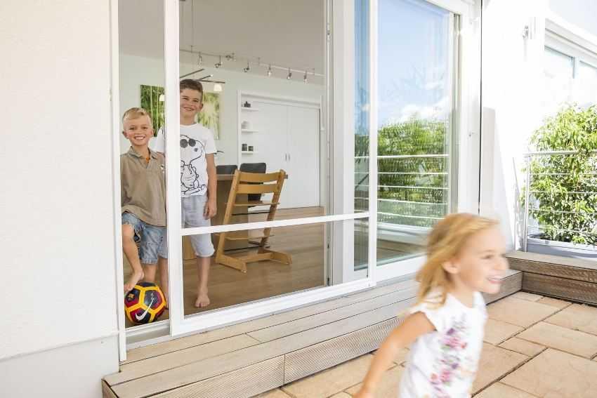 Москітна сітка на двері - елемент захисту приміщення