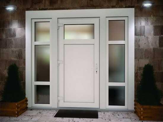 Як вибрати пластикові вхідні двері в приватний будинок: нюанси вибору
